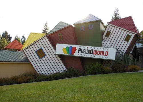 New Zealand, South Island - Wanaka, The Puzzling World