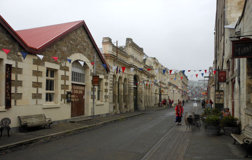 Oamaru - Victorian style street