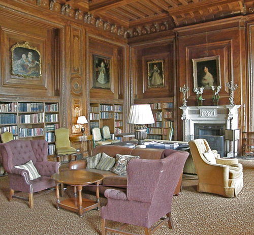Cliveden House Library