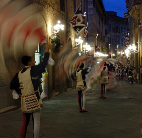Siena Contrada Festival, Tuscany, Italy
