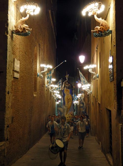 Siena Contrada Parade, Tuscany, Italy
