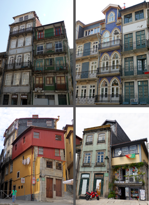 Beautiful Old Porto Buildings, Portugal